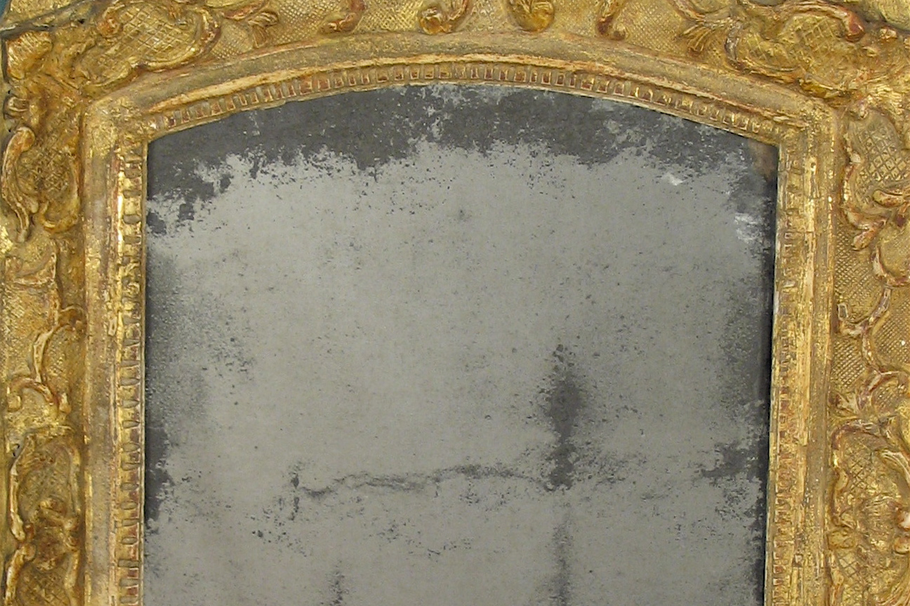 Antique Mirrored Glass Part I Framed Mirrors