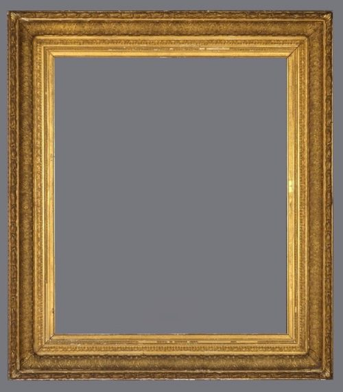 Late 19th C. American gold leaf Anthemion frame.