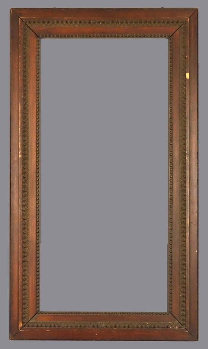 Late 19th C. American wood and applied ornament frame.
