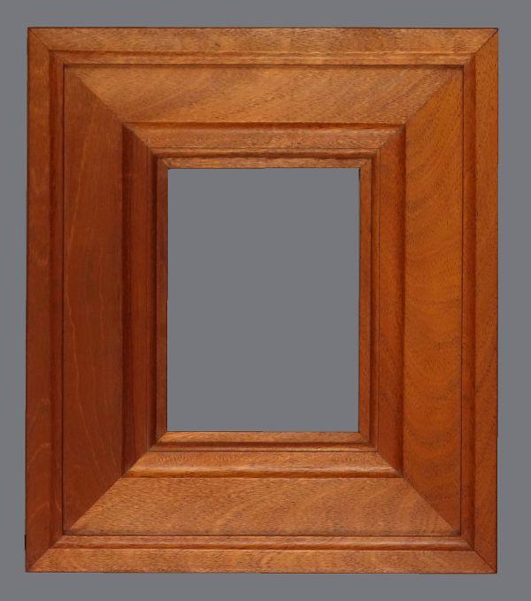 20th C. Honduran mahogany frame
