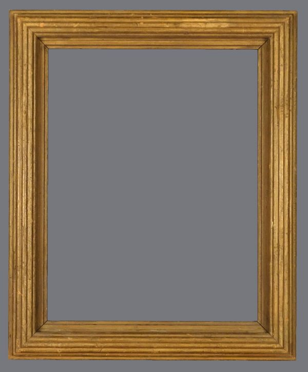 Early 20th C. American Degas style reeded frame